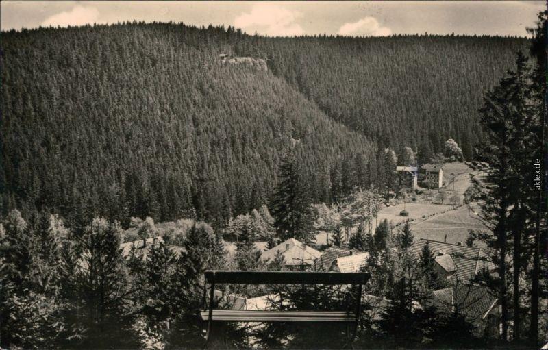 Ansichtskarte Finsterbergen-Friedrichroda Panorama-Ansicht 1964