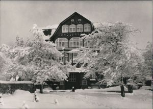 Ansichtskarte Oberhof (Thüringen) Winteransicht 1967