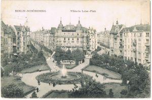 Ansichtskarte Schöneberg-Berlin Commerzbank Viktoria Luise Platz 1915
