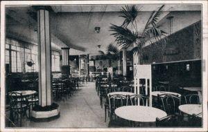 Ansichtskarte Würzburg Innenansicht - Central-Cafe 1920
