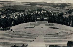 Schwarzenberg (Erzgebirge) Feierstätte/Thingstätte im Stadtpark Rockelmann 1938