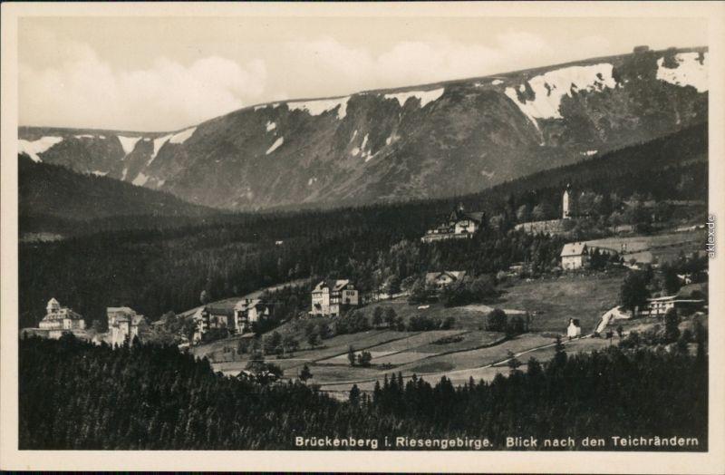 Brückenberg-Krummhübel Karpacz Górny Karpacz Blick auf die Stadt 1930