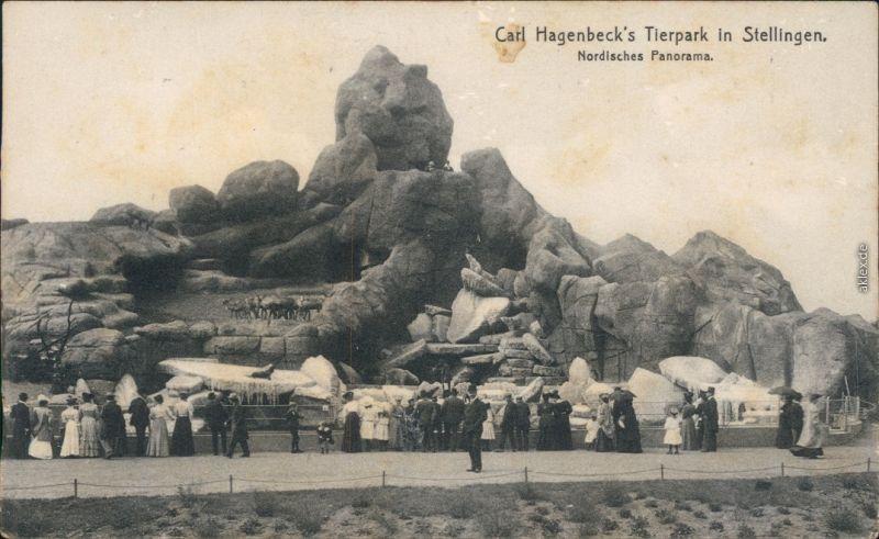 Stellingen-Hamburg Tierpark Hagenbeck - Nordisches Panorama 1910