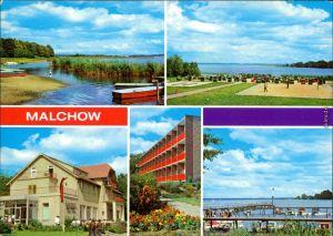 Malchow (Mecklenburg) Malchow - Ferienheim d. Mdl Hans Kahle, Fleesensee,  1979