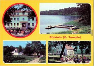 Röddelin-Templin Ferienheim Südharz des VEB Kalibetrieb, Werk Thomas   1981