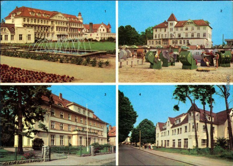 Kühlungsborn FDGB-Erholungsheim