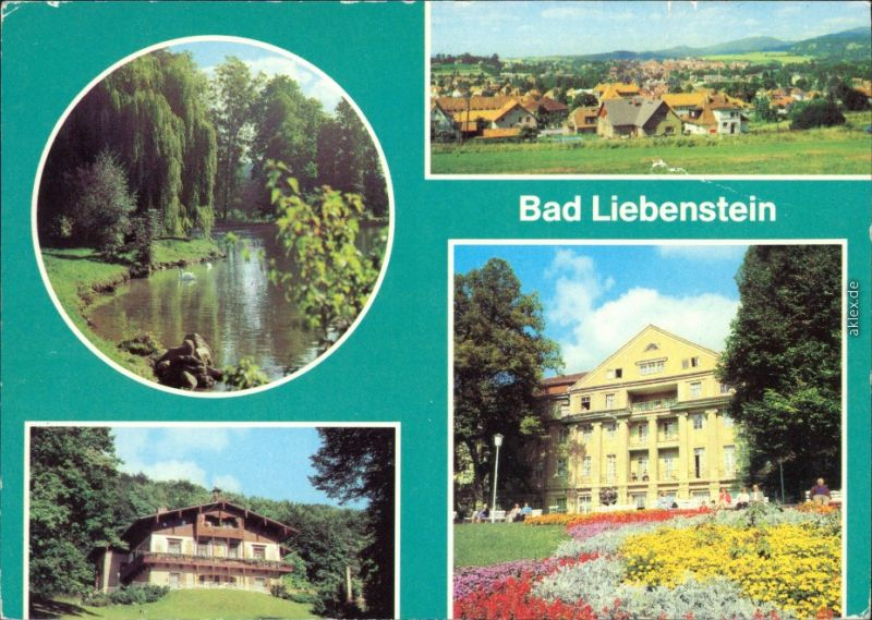 Bad Liebenstein Blick vom Panoramaweg, Heimgaststätte