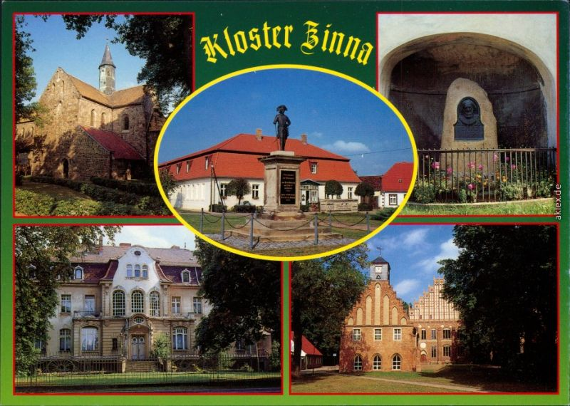 Kloster Zinna Jüterbog   und Alte Försterei  Alte und Neue Abtei 1995