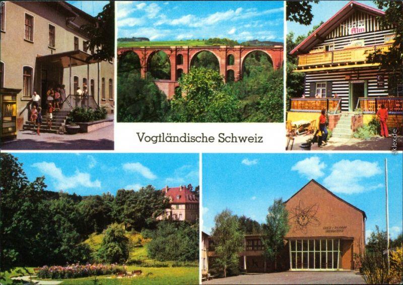 Jocketa-Pöhl HOG Adlerstein-Alm, Anlage am Bahnhof Weinert-Oberschule 19782
