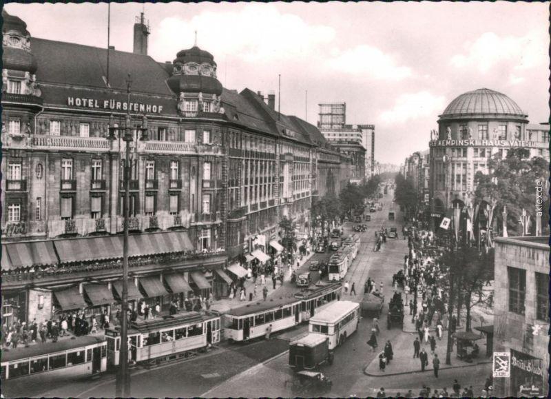 Ansichtskarte Tiergarten-Berlin Potsdamer Platz - Stadtverkehr 1939