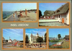 Usedom Karlshagen - Strand, Trassenheide Gaststätte