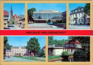 Heilbad Heiligenstadt Am Berge,  Rathaus, Bahnhof  1982