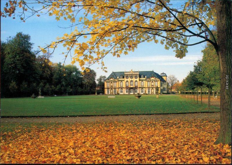 Ansichtskarte Molsdorf-Erfurt Mohlsdorfer Schloss und Park 1995
