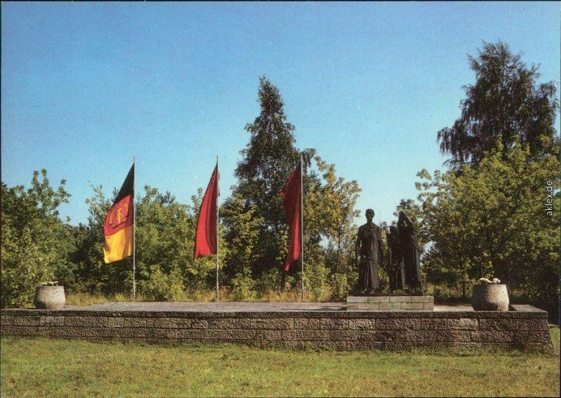 Fürstenberg Havel Mahn- und Gedenkstätte Konzentrationslager Ravensbrück  1987