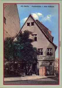 Berlin Märkisches Museum: Alt - Berlin - Fischerstraße, alter Nussbaum 1987