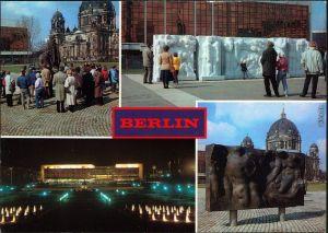 Ansichtskarte Berlin Marx-Engels-Forum 1986