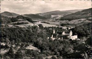 Ansichtskarte Bensheim Schloss Schönberg 1966