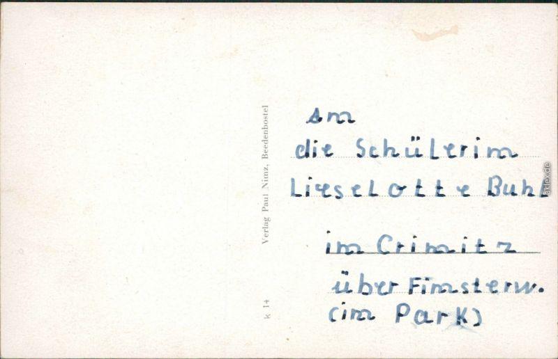 Ansichtskarte Beedenbostel Wassermühle, An der Aschau, Kirche, Amtshof 1938 1