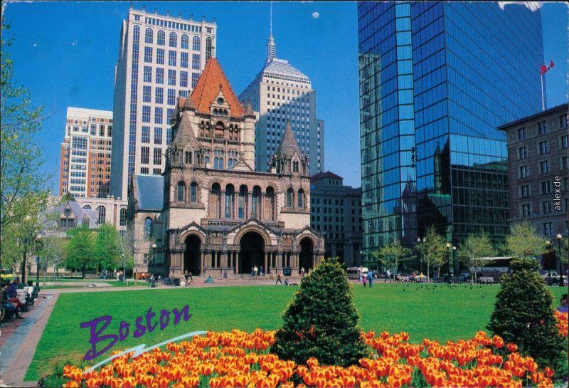 Ansichtskarte Boston Trinity Church / Kirche 1999