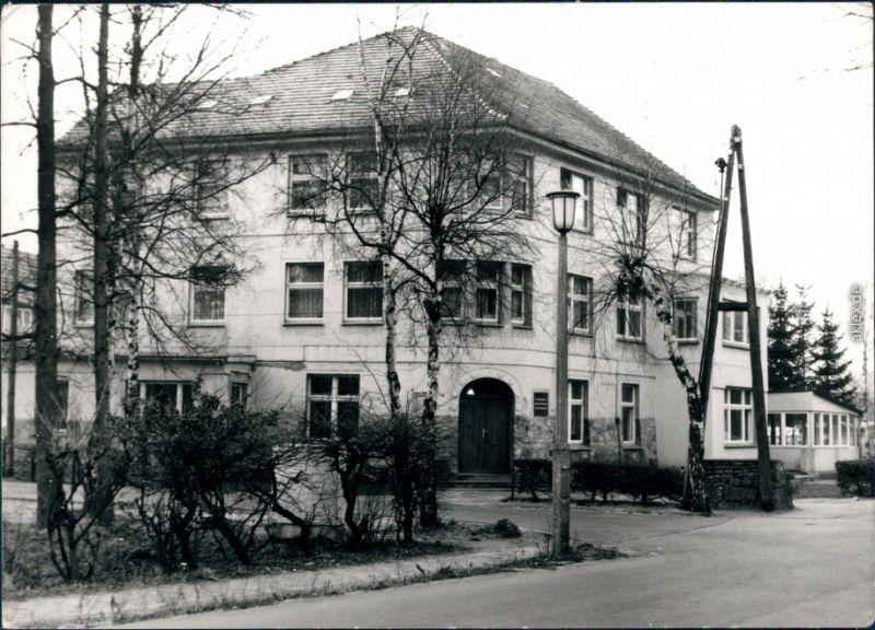 Ansichtskarte Graal-Müritz Straßenpartie - Sanatorium Richard Assmann 1981