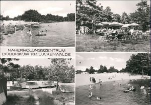 Dobbrikow Nuthe-Urstromtal Naherholungszentrum    Gaststätte, Bungalows 1983