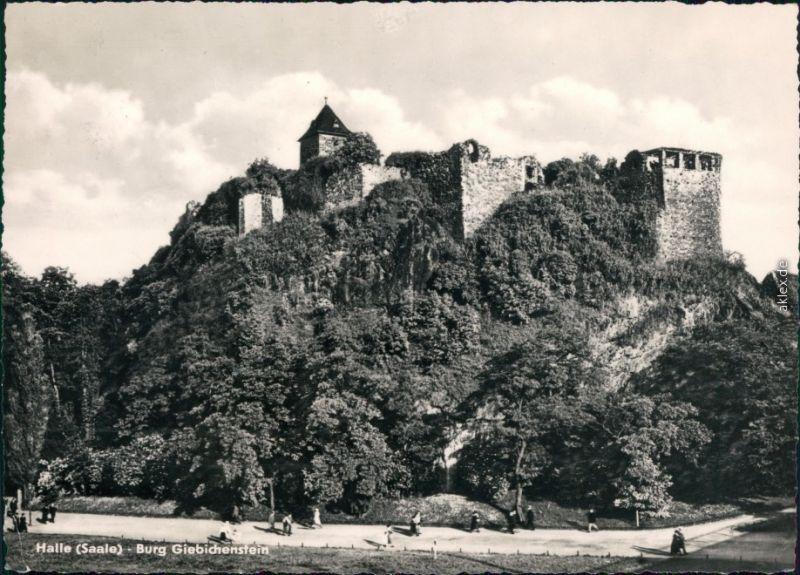 Ansichtskarte Giebichenstein-Halle (Saale) Burg Giebichenstein 1972
