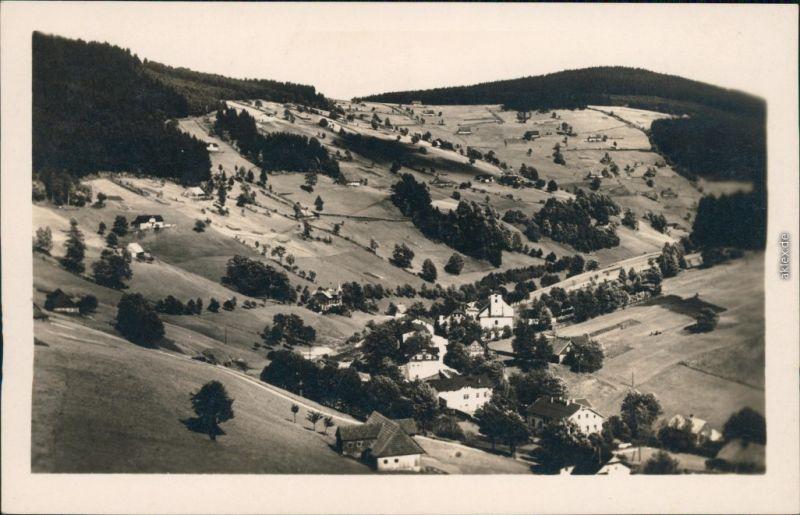 Groß Aupa-Petzer Velká Úpa Pec pod Sněžkou Panorama-Ansicht 1934
