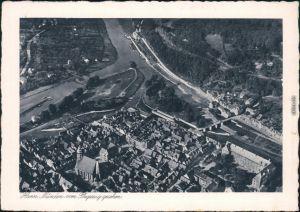 Ansichtskarte Hannoversch Münden Hann. Münden Luftbild 1932
