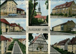 Burgdorf (Hannover) Bahnhof, Schule, Blücher-Zintener-Königsberger-Straße 1964