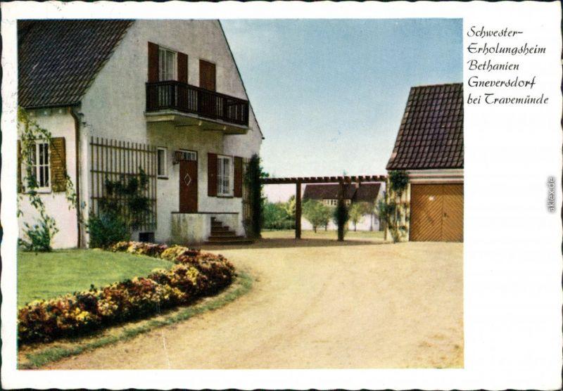 Gneversdorf (b. Travemünde) Schwester Erholungsheim Bethanien 1965 0