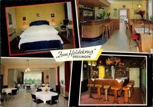 Ansichtskarte Dreilingen Gasthaus und Hotel Zum Heidekrug 1972