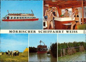 Mörbisch am See Mörbische Schiffahrt - Schiff - Innenbereich 1982