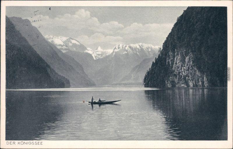 Ansichtskarte Schönau am Königssee Königssee: Malerwinkel 1940