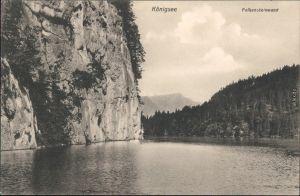 Ansichtskarte Schönau am Königssee Königssee, Falkensteinwand 1915