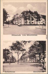 Schlachtensee-Berlin Niklasstraße und Albrechtstraße Steglitz Zehlendorf 1926