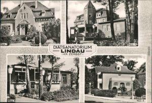Ansichtskarte Lindau (Anhalt)-Zerbst DFGB Diät-Sanatorium 1966