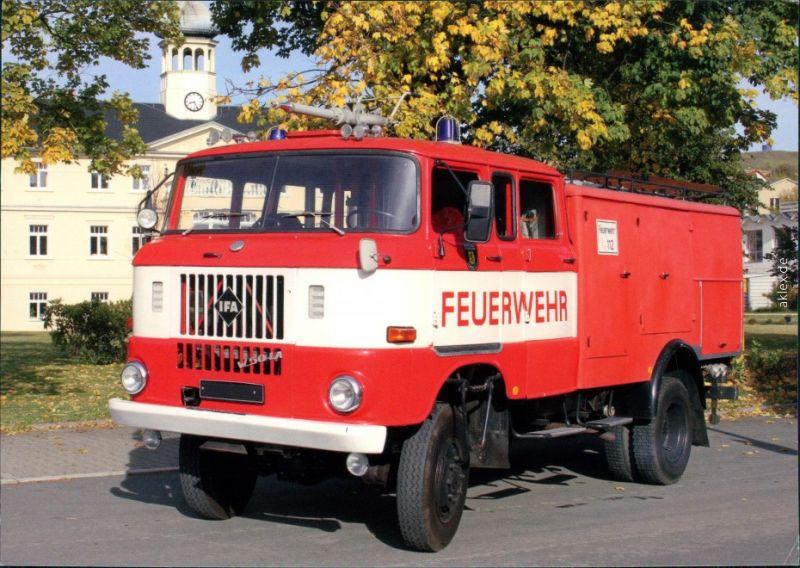Feuerwehr TLF 16/TS 8, W50 - Freiwillige Feuerwehr Oelsnitz 1995