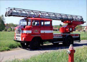Ansichtskarte  Feuerwehr DL 30, W50 1995