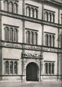 Ansichtskarte Wismar Fürstenhof mit Portal 1979