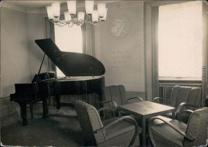 Ansichtskarte Warmbad-Wolkenstein Wismut-Bergarbeiter-Sanatorium 1959