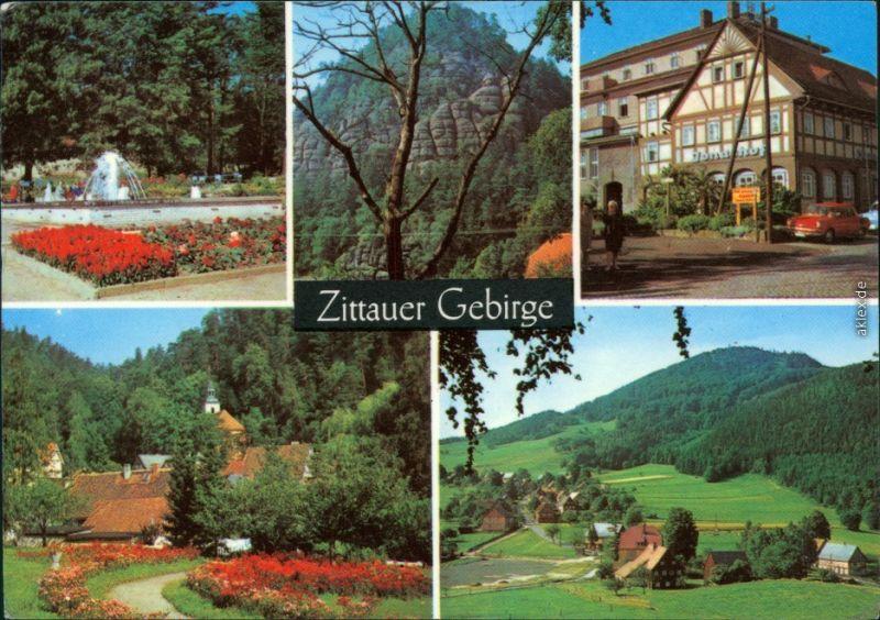 Ansichtskarte Zittau Zittauer Gebirge 1976