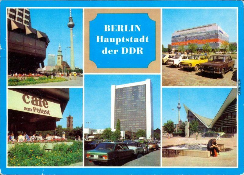 Berlin  CENTRUM-Warenhaus, Café am Palast, Internationales