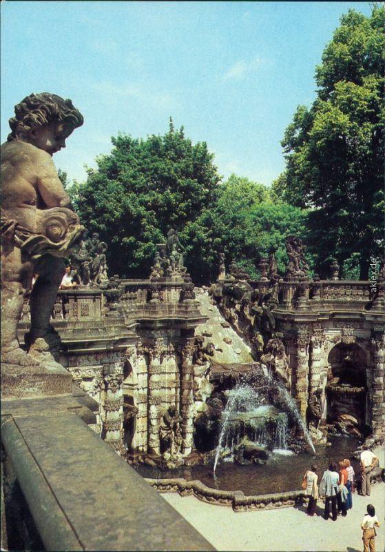 Innere Altstadt Dresden Dresdner Zwinger: Nymphenbad 1987