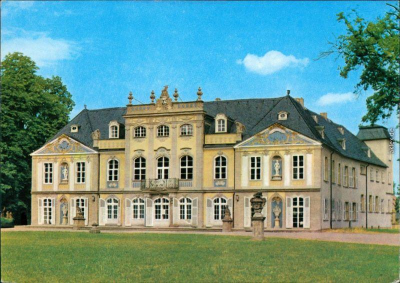 Ansichtskarte Molsdorf-Erfurt Mohlsdorfer Schloss und Park 1973