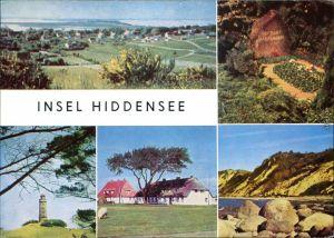 Hiddensee Hiddensjö, Hiddensöe Dornbusch, Grabstätte Gerhart   1970