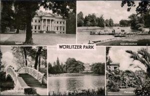 Wörlitz-Oranienbaum-Wörlitz Wörlitzer Park - Schloß, Gondelstation 1962