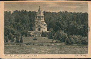 Ansichtskarte Berg (Starnbergersee) Votiv Kapelle König Ludwig II 1928