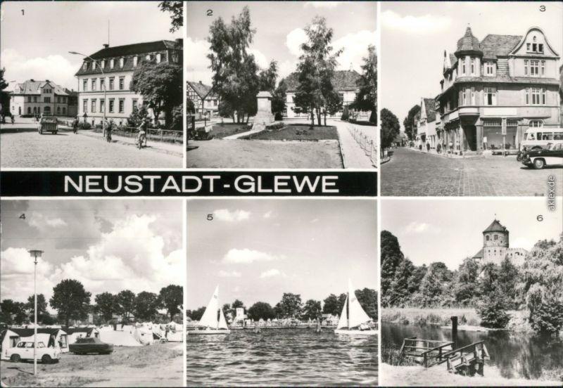 Neustadt Glewe Geschwister-Scholl-Platz, Breitscheidstraße, Zeltplatz 1979
