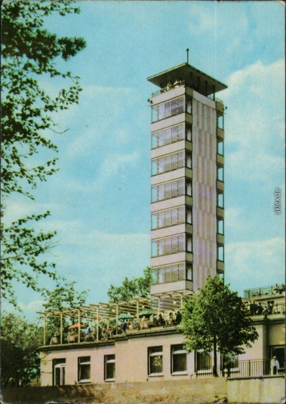 Ansichtskarte Köpenick-Berlin Müggelturm 1964
