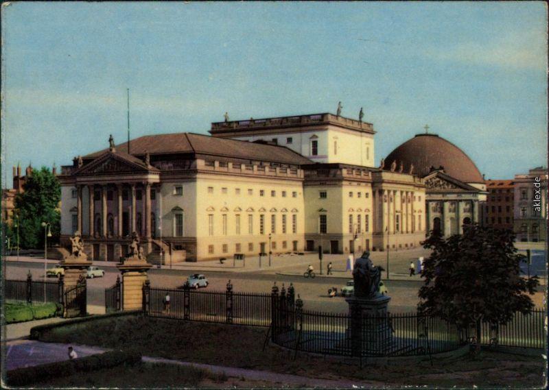 Mitte Berlin Staatsoper Unter den Linden / Neues Königliches Opernhaus 1961